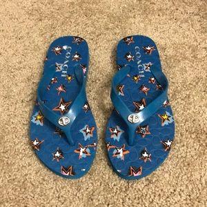 Coach NWOT flip flops size 5